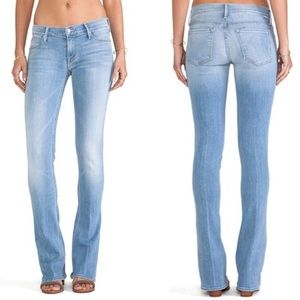 Mother The Runway Skinny Flare Jeans Sz 26 X